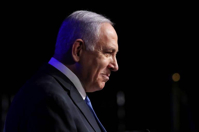 Este é Binyamin Netanyahu