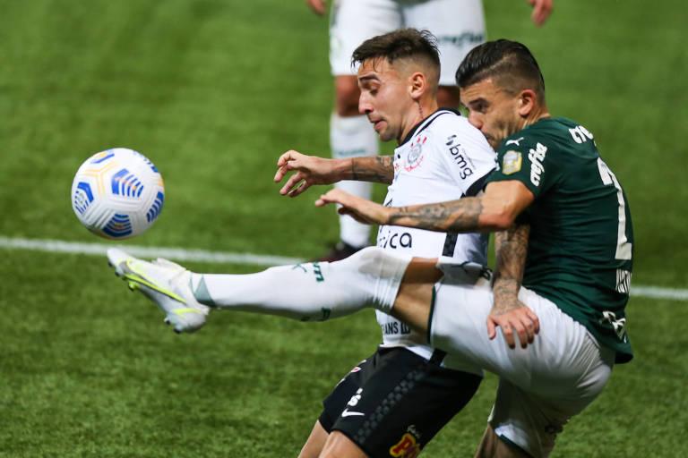 Caneladas do Vitão: Corinthians tira a diferença técnica na raça