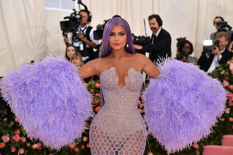 Kylie Jenner no Met Gala de 2019