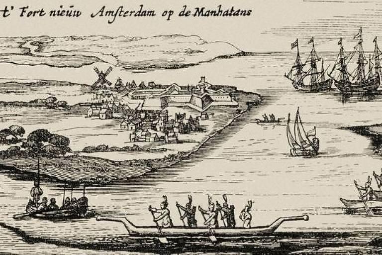 Os holandeses fundaram Nova Amsterdã, que mais tarde se tornaria Nova York, anos depois que Rodríguez morou lá