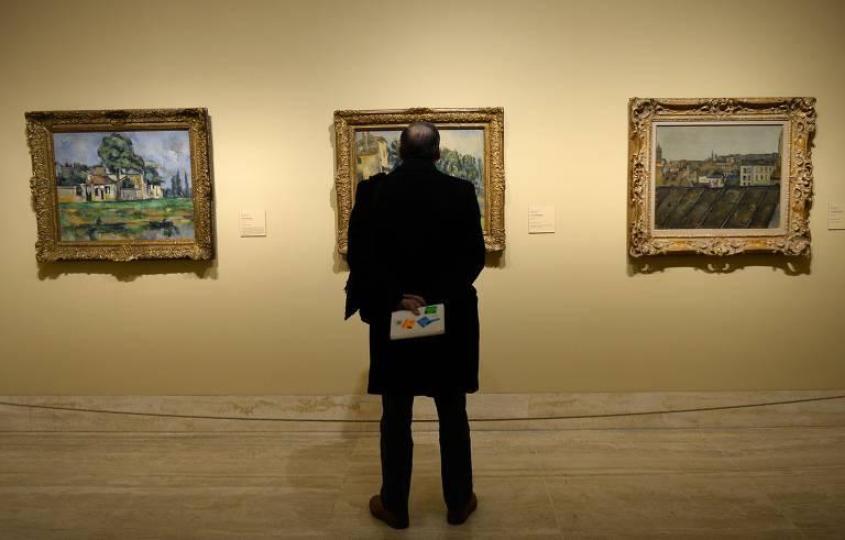 Veja obras de Paul Cézanne