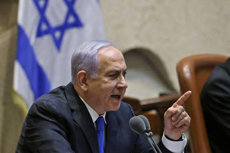 Netanyahu ataca rival e promete voltar em votação que deve tirá-lo do cargo em Israel