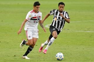Brasileiro Championship - Atletico Mineiro v Sao Paulo
