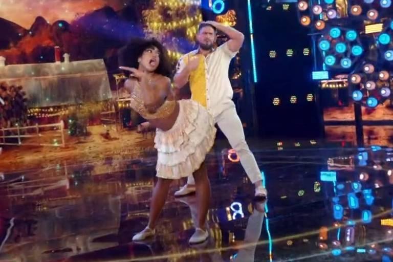 Dandara Mariana se classifica para semifinal do Super Dança dos Famosos