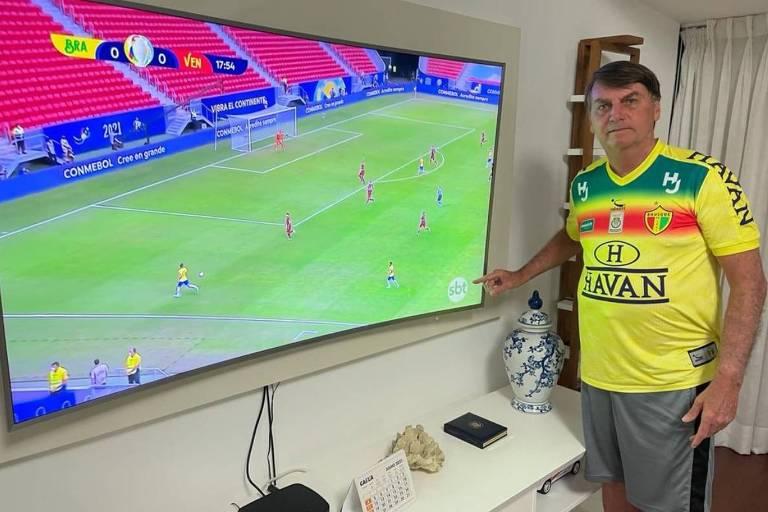 SBT ganha audiência com a Copa América; competição tem seu pior placar na TV