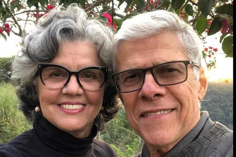 José Mayer e Vera Fajardo
