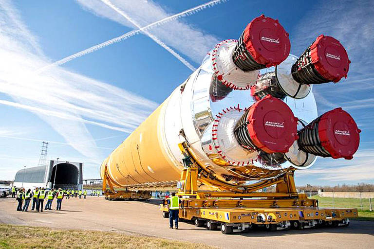 Tudo sobre foguete gigante da Nasa que vai levar astronautas à Lua e a Marte
