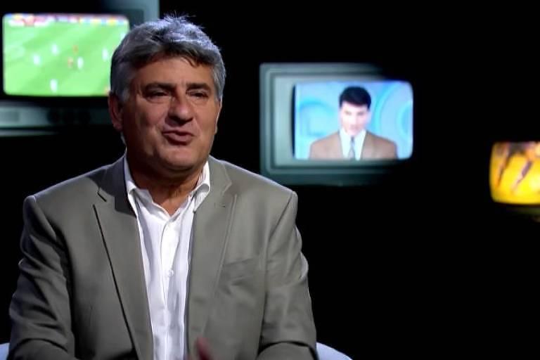 Narrador Cléber Machado está na TV Globo desde 1988