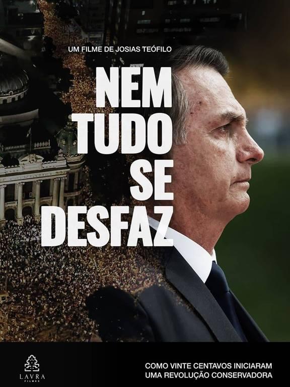"""Cartaz do filme """"Nem Tudo se Desfaz"""", de Josias Teófilo"""