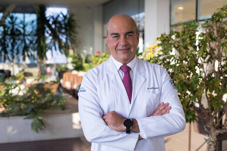 Fernando Ganem, diretor-geral do Hospital Sírio-Libanês e que também coordena o programa de residência em clínica médica da instituição