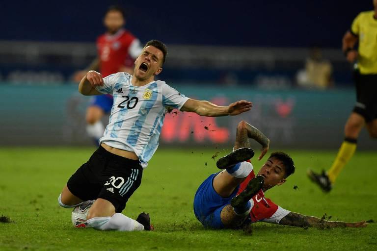 Argentina 1 x 1 Chile
