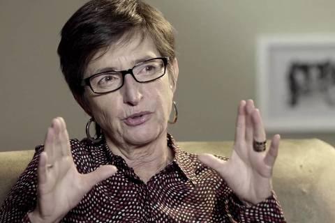 A montadora Vânia Debs, responsável por filmes como 'Baile Perfumado' e 'Árido Movie'