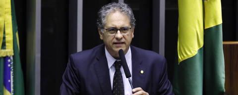 Brasilia-DF, 03/03/2020, Sessão do Congresso Nacional - Ordem do dia para deliberação de vetos. Dep. Carlos Zarattini (PT - SP) Foto: Luis Macedo/Câmara dos Deputados