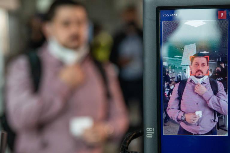 Congonhas testa reconhecimento facial em ponte aérea Rio-SP