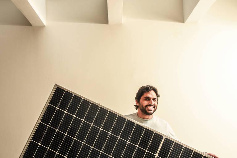 Fintechs financiam painel solar com economia na conta de luz