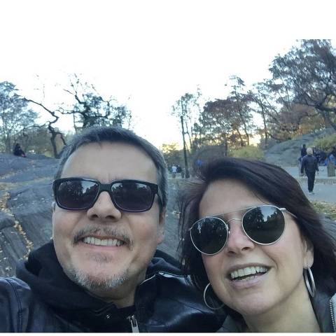 Cassio Gabus Mendes e Lídia Brondi