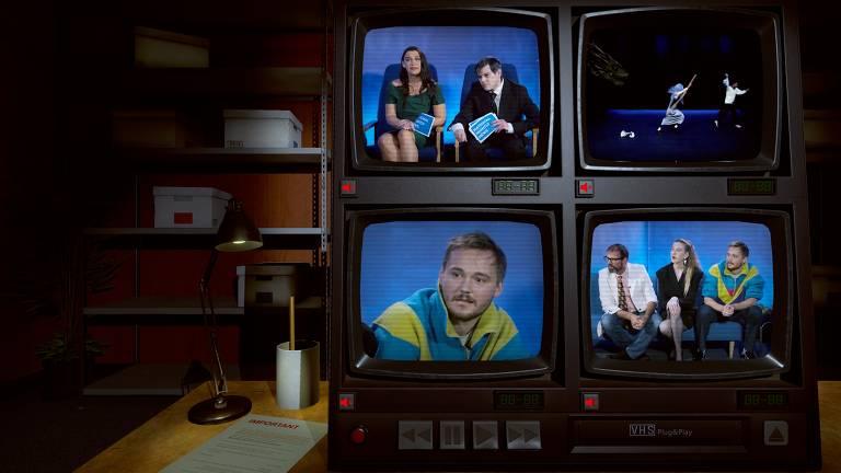 Veja cenas de 'Not For Broadcast'