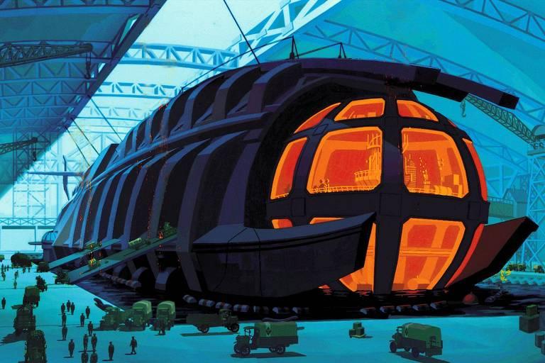 """A animação da Disney """"Atlantis- O Reino Perdido"""""""
