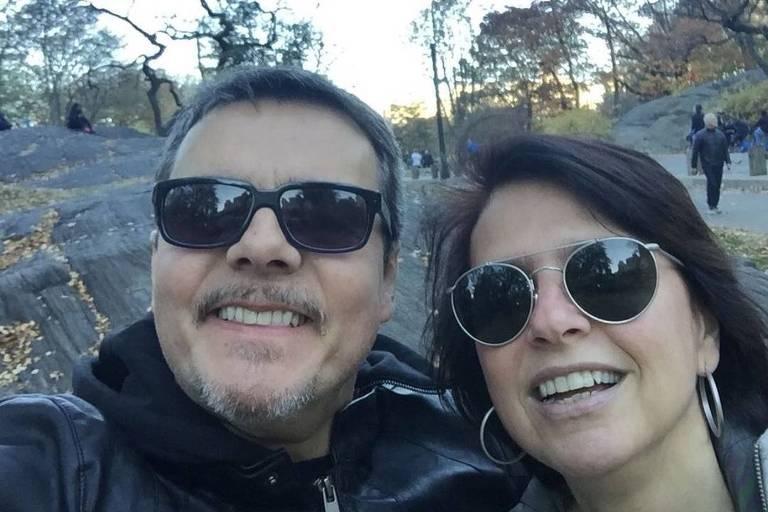 Cássio Gabus Mendes e Lídia Brondi