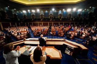 President Joe Biden addresses a Joint Session of Congress
