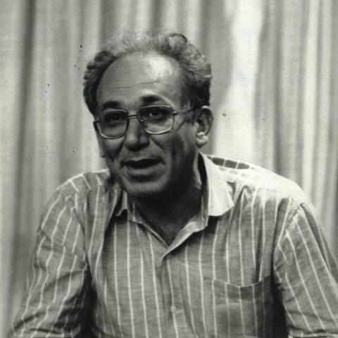 19/10/1984 - O Jornalista da Folha Aloysio Biondi. (Foto: Jorge Araujo Folhapress)