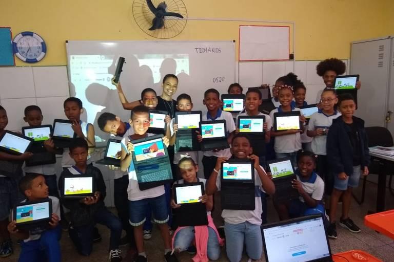 Startup Tech4Kids oferece educação digital para crianças