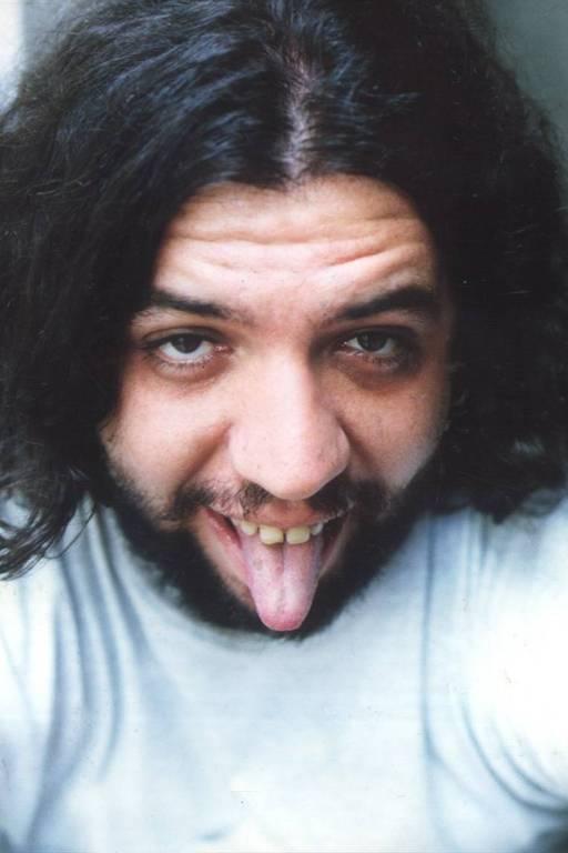 O humorista Claudio Besserman Vianna, o Bussunda, do 'Casseta & Planeta, em 1992