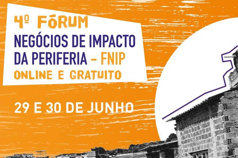 cartaz do Fórum de Negócios de Impacto da Periferia