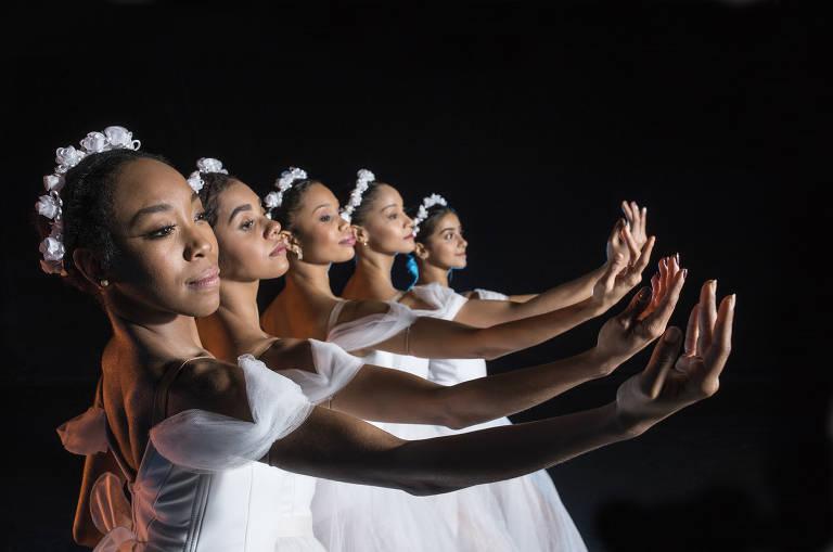 Recém-chegadas à São Paulo Companhia de Dança, bailarinas negras encenam os clássicos