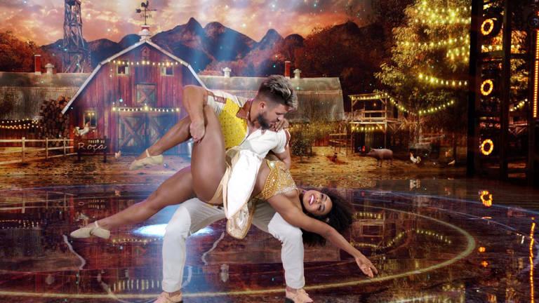 Imagens do Super Dança dos Famosos