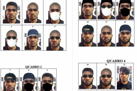 A PCDF, por meio do Instituto de Identificação/DPT, através de seu Laboratório de Representação Facial Humana, divulga a projeção de disfarce de Lá-zaro Barbosa de Sousa, autor de diversos crimes praticados ao longo dos últimos dias.Crédito Assessoria de Comunicação/ DGPC
