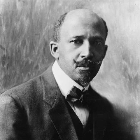 O sociólogo e ativista americano W.E.B. Du Bois