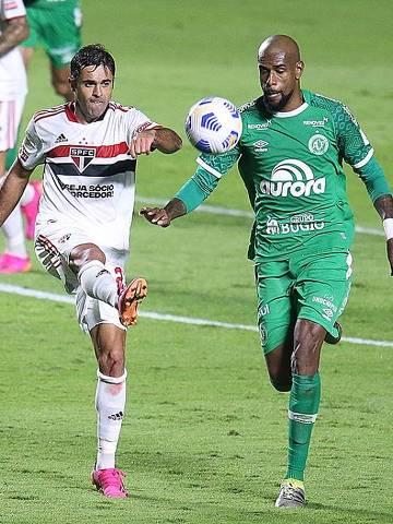 16/06/2021 - São Paulo 1 x 1 Chapecoense - Brasileiro - Morumbi Fotos: Paulo Pinto / saopaulofc.net