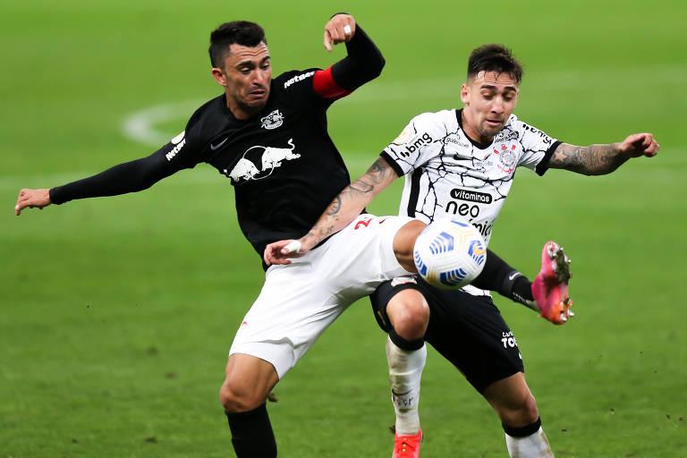 Bola entre as pernas de Cássio define derrota do Corinthians para o Bragantino