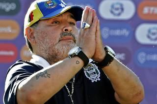 Audition de l'infirmière Dahiana Gisela Madrid devant le bureau du procureur enquêtant sur la mort de Maradona