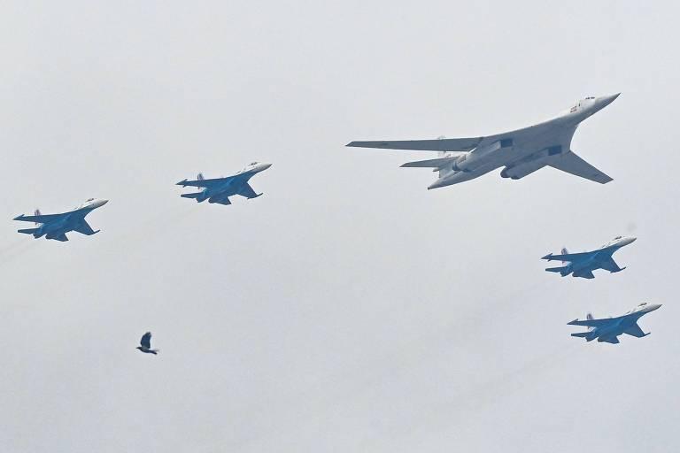 Caças da Otan interceptam aviões russos no Báltico em semana tensa; veja vídeos