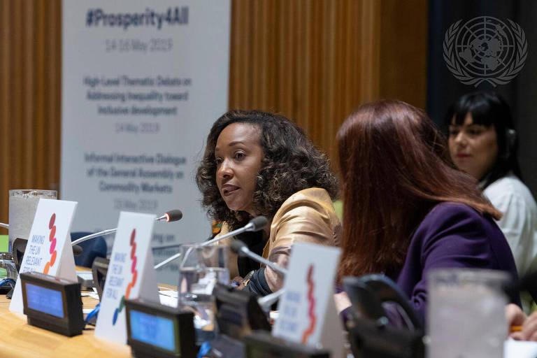 Pamela Coke-Hamilton, diretora-executiva do Centro Internacional de Comércio (CIC)