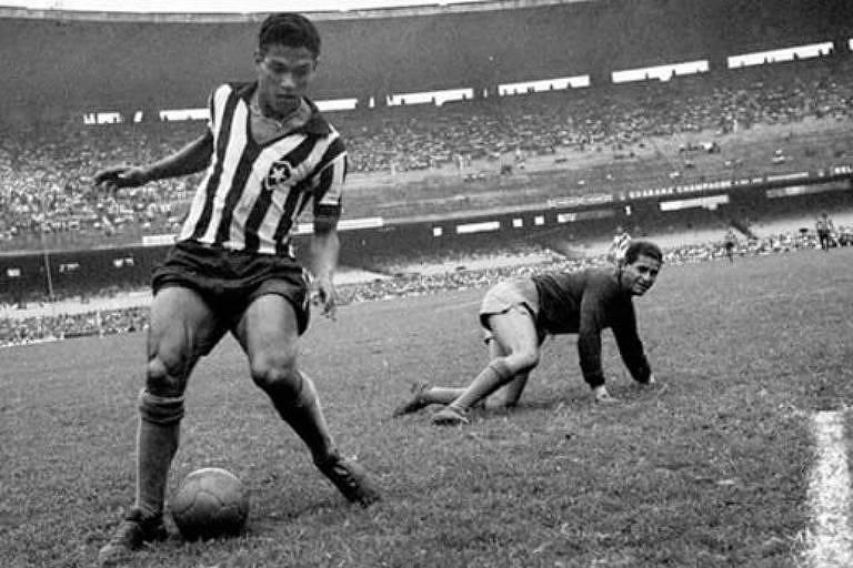 """Cena de """"Garrincha, a Alegria de um Povo"""""""
