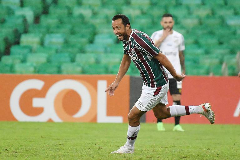 Santos domina posse de bola, e Fluminense domina placar no Maracanã