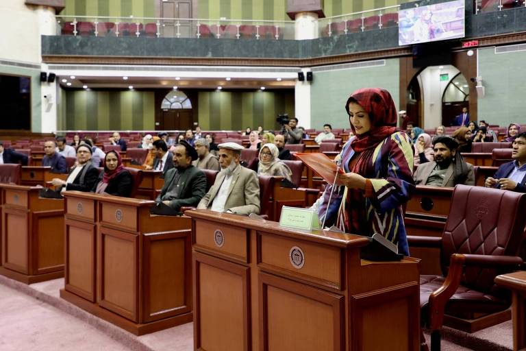 Sessão do Parlamento do Afeganistão