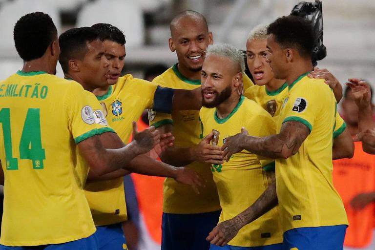 Brasil 4 x 0 Peru