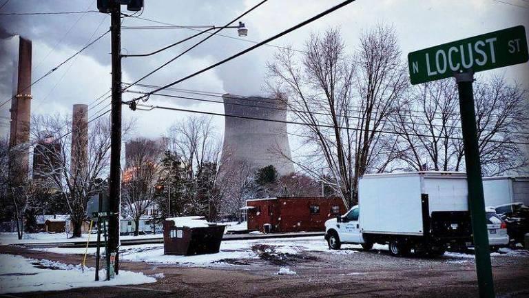 A cidade fantasma criada pelo carvão