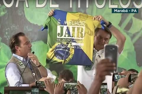 Evento com Bolsonaro no Pará tem Malafaia no palanque, clima de campanha e ataques a Lula