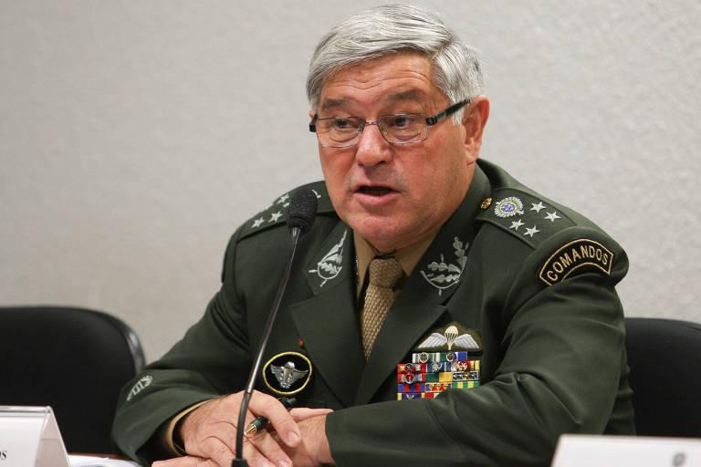 General Luis Carlos Gomes Mattos, em 2011, quando foi sabatinado no Senado para indicação ao STM
