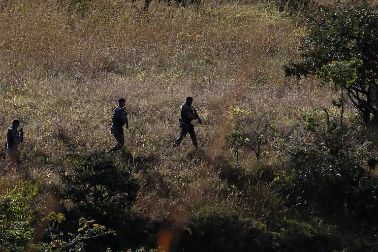Caçada a 'serial killer do DF' altera rotina em área rural de município goiano