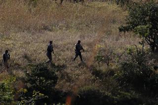 Operação das policiais civis e militares para capturar serial killer em GO