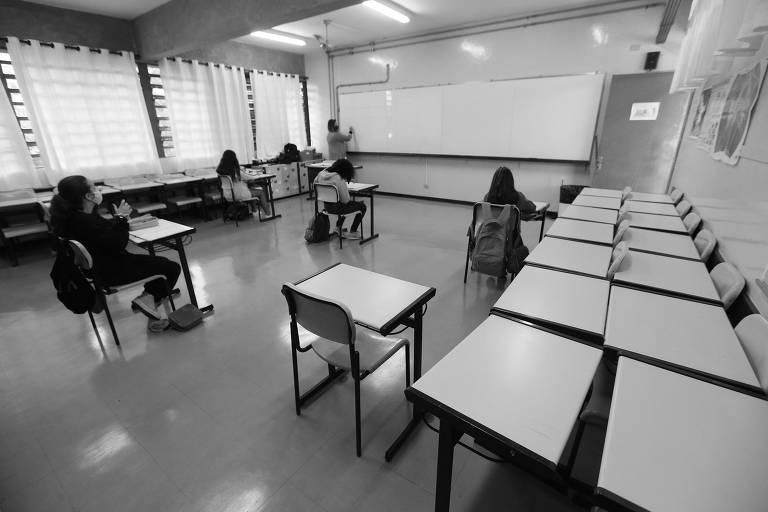 Mais alunos nas escolas