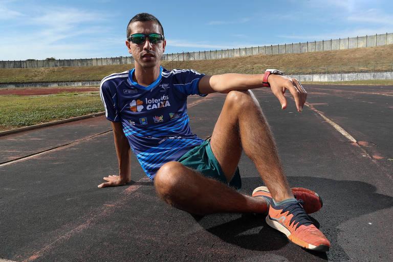 Caio Bonfim se prepara para marcha atlética na Olimpíada de Tóquio