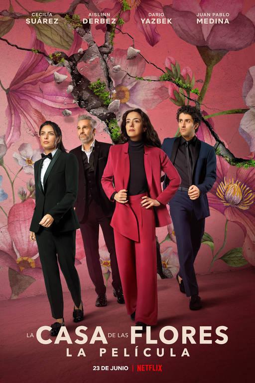 Cartaz de 'A Casa das Flores - O Filme'
