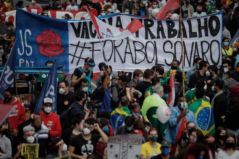 Presença da esquerda dá brecha para bolsonaristas carimbarem atos como pró-Lula